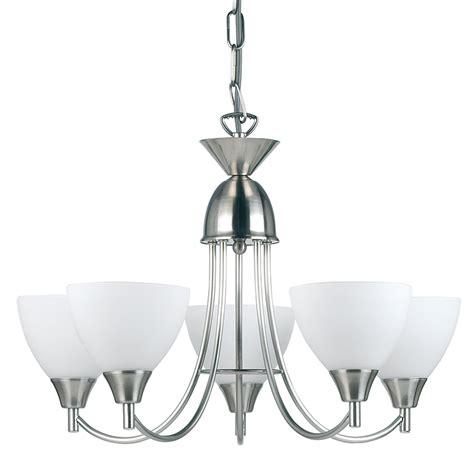 endon lighting satin chrome  arm ceiling light fitting xw ses  sc
