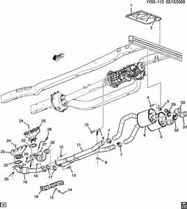 Cadillac Exhaust System Diagram