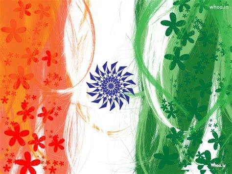 republic day flage  flower hd wallpaper