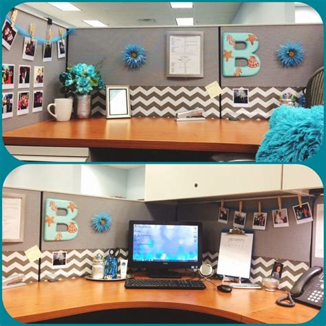 desk decoration themes in office diy desk glam give your cubicle office or work space a