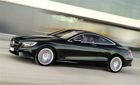 S-class Coup: First Images of Mercedes-Benz's Graceful ...