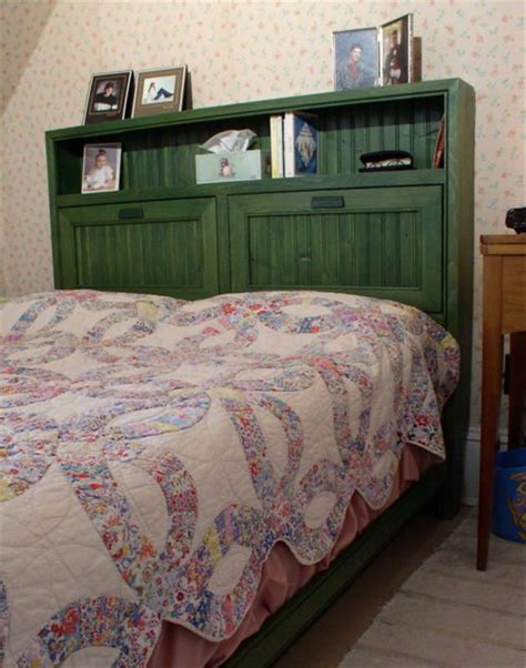 cottage bookcase bed woodworking plans