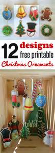 12 free christmas ornaments printables and a christmas craft tutorial happy and blessed home
