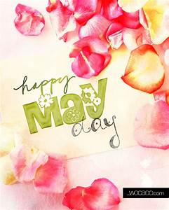 Happy May Day - 8x10 Printable - WOrds CAn DO
