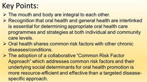 links  oral general health dental health foundation