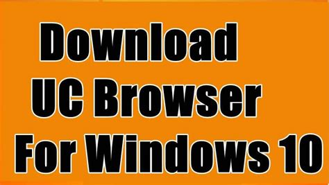 Ucbrowser for desktop pc adds a lot of features you probably don't have so this is the perfect the upload and download speed is superb and uc browser is licensed as freeware for pc or laptop with windows 32 bit and 64 bit operating system. Uc Browser Download Windows 10 - UC Browser 32 bit - 64 ...