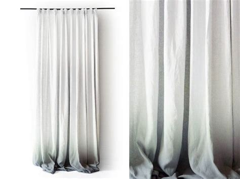 25 best ideas about white linen curtains on