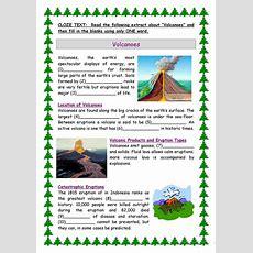 Volcanoes Worksheet  Free Esl Printable Worksheets Made By Teachers