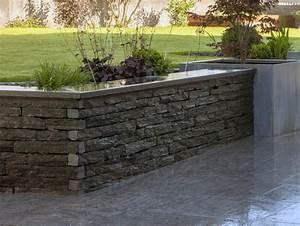 beautiful bordure de muret pictures joshkrajcikus With superior amenagement de jardin avec des pierres 8 murets au jardin
