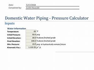 Domestic Water Piping Calculator  Quickly Size And Select