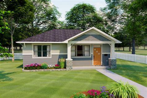 cozy bungalow  front porch mg architectural designs house plans