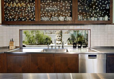 Kitchen Window Backsplash : West Hollywood Residence