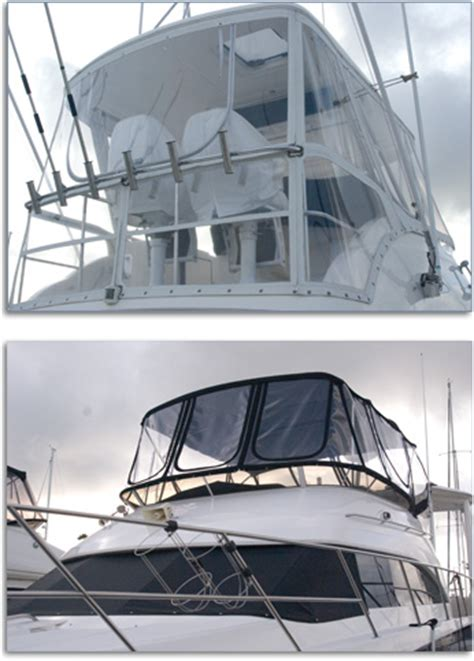 Isinglass Curtains For Boats by Yacht Service