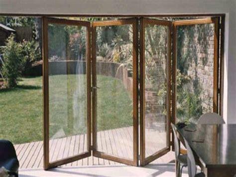 folding sliding glass doors folding garage doors wood