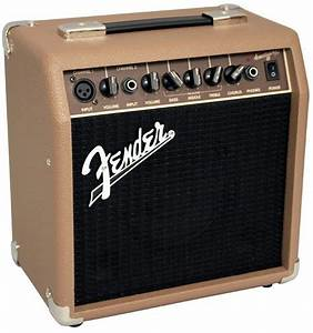 Fender Acoustasonic 15 Acoustic Guitar Combo Amplifier  15