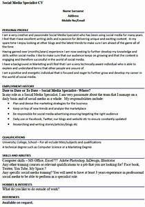 Social media specialist cv example forumslearnistorg for Cover letter for social media specialist