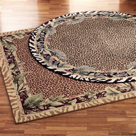 animal print rug jungle safari animal print area rugs