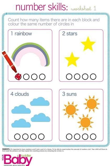 printable school readiness work sheets parent