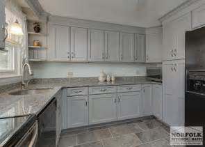 transitional gray kitchen in hudson nh