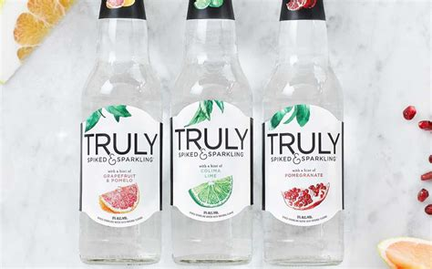 wine and beverage cooler truly spiked sparkling launches alcoholic sparkling