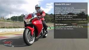 Moto Journal Youtube : video honda vfr 1200 f 172 ch sur une sport gt moto journal youtube ~ Medecine-chirurgie-esthetiques.com Avis de Voitures