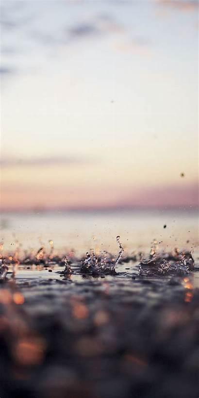Wallpapers Water Liquid Spray Drop M31s 1440
