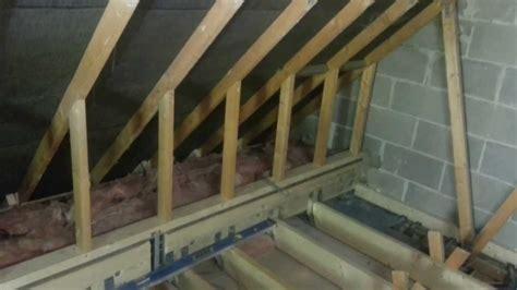 diy closet system garage loft conversion in bovey tracey 5