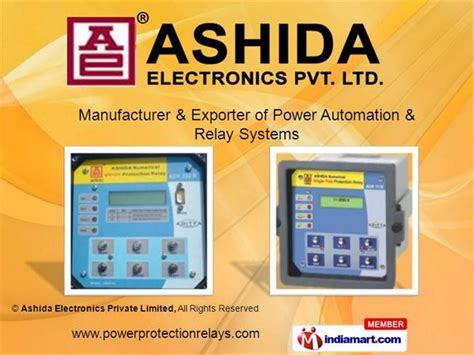 Auxiliary Protection Relay Ashida Electronics Private