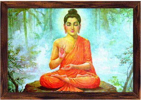 gautam buddha canvas art religious posters  india