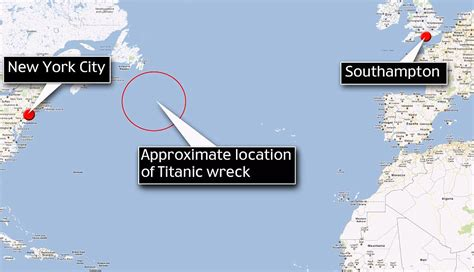 Titanic Boat Location by New Titanic Images Show Doomed Ship As You Ve Never Seen