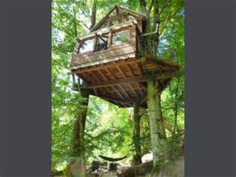 chambre dans les arbres 1 cabane dans les arbres chambre d 39 hôtes à magnat l 39 étrange