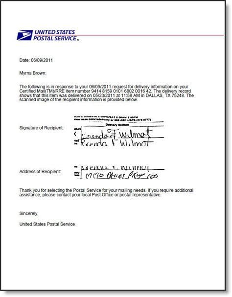 return receipt electronic usps certified mail certified