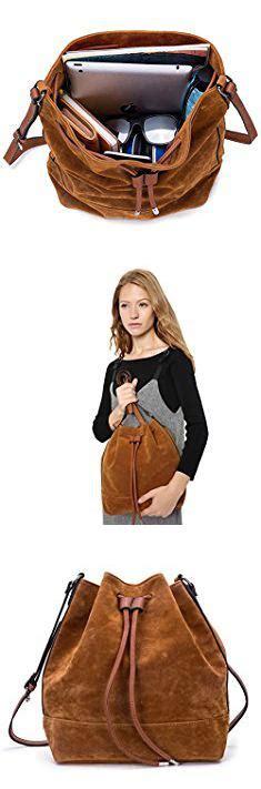 suede bag anna jones women bucket suede autumn fashion color brown suede women bucket suede