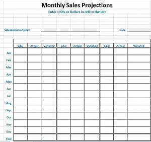 sales projection template consists of entire stuff in With sale forecast template