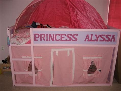 personalized kura bed fit   princess  playhouse