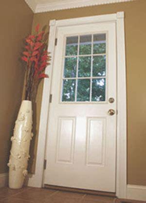 Exterior Kitchen Door With Window by Installing A New Exterior Door How To