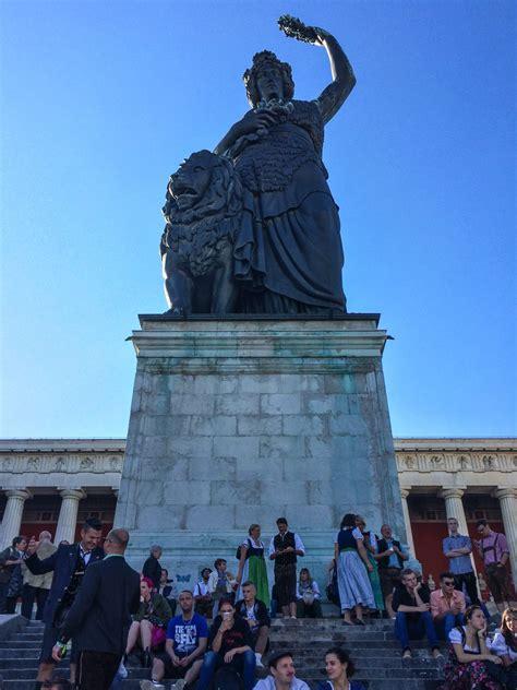 Bavaria Statue View Kynosarges Weblog