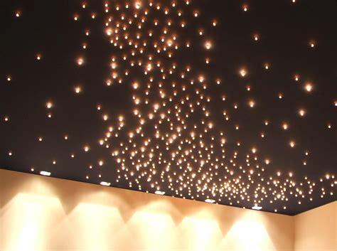 faire un plafond etoile mur et plafond 233 toil 233 semeur d etoiles cr 233 ation lumineuses