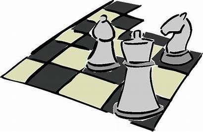 Chess Clipart Pieces Clip Board Immagine Cliparts