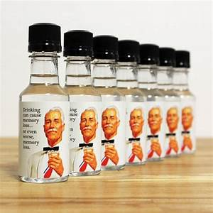 mini bottle party favors adult birthday liquor labels and With diy mini liquor bottle labels