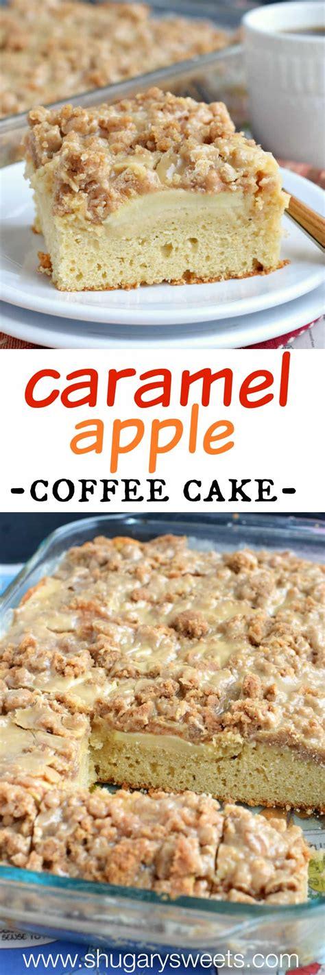 Caramel Apple Coffee Cake Shugary Sweets