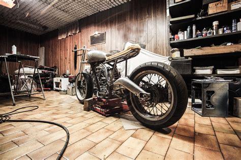 Vintage Motorcycle Background