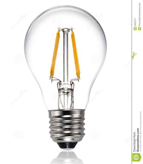 new energy efficient incandescent light bulbs new type led light bulb stock photo image 54507211