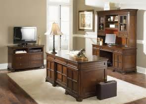 remington jr executive 4 piece home office executive in brown whiskey finish by liberty