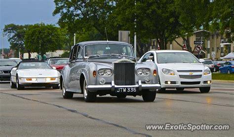 Rolls Royce Michigan by Rolls Royce Silver Cloud Spotted In Detroit Michigan On