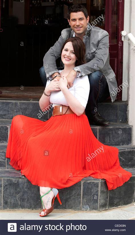 Il Divo Cantanti Il Divo Cantante Sebastien Izambard Con Su Esposa Renee
