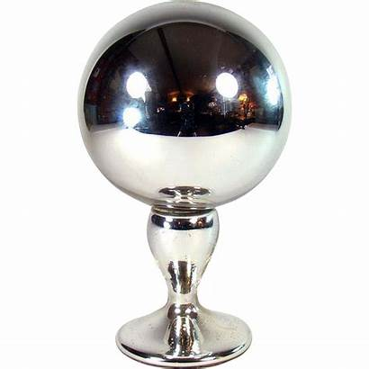 Glass Mercury Ball Gazing Victorian 1880 Sold