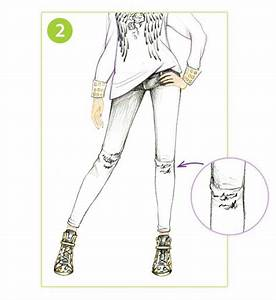 HOW TO DRAW Stylish Skinny Jeans | Style Me Up | Drawing | Pinterest | Pose reference Drawing ...