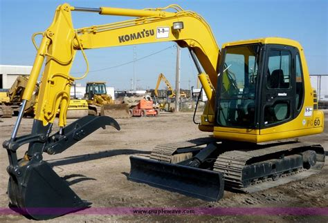 komatsu pc mini excavator  kansas city ks item  sold purple wave