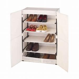 Rangement à Chaussures : rangement chaussures wenko ~ Teatrodelosmanantiales.com Idées de Décoration